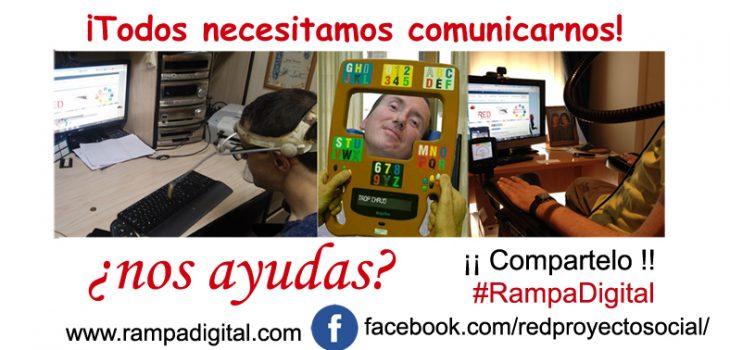 Imagen difusión ¡Todos necesitamos comunicarnos! - ¿Nos Ayudas?