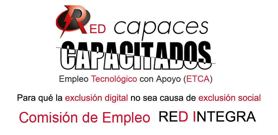 Logotipo Red Integra CAPACES CAPACITADOS