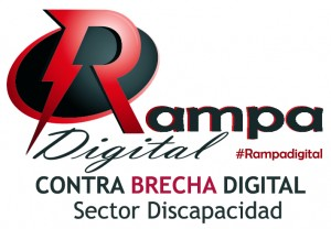 Logotipo Rampa Digital Contra la brecha digital