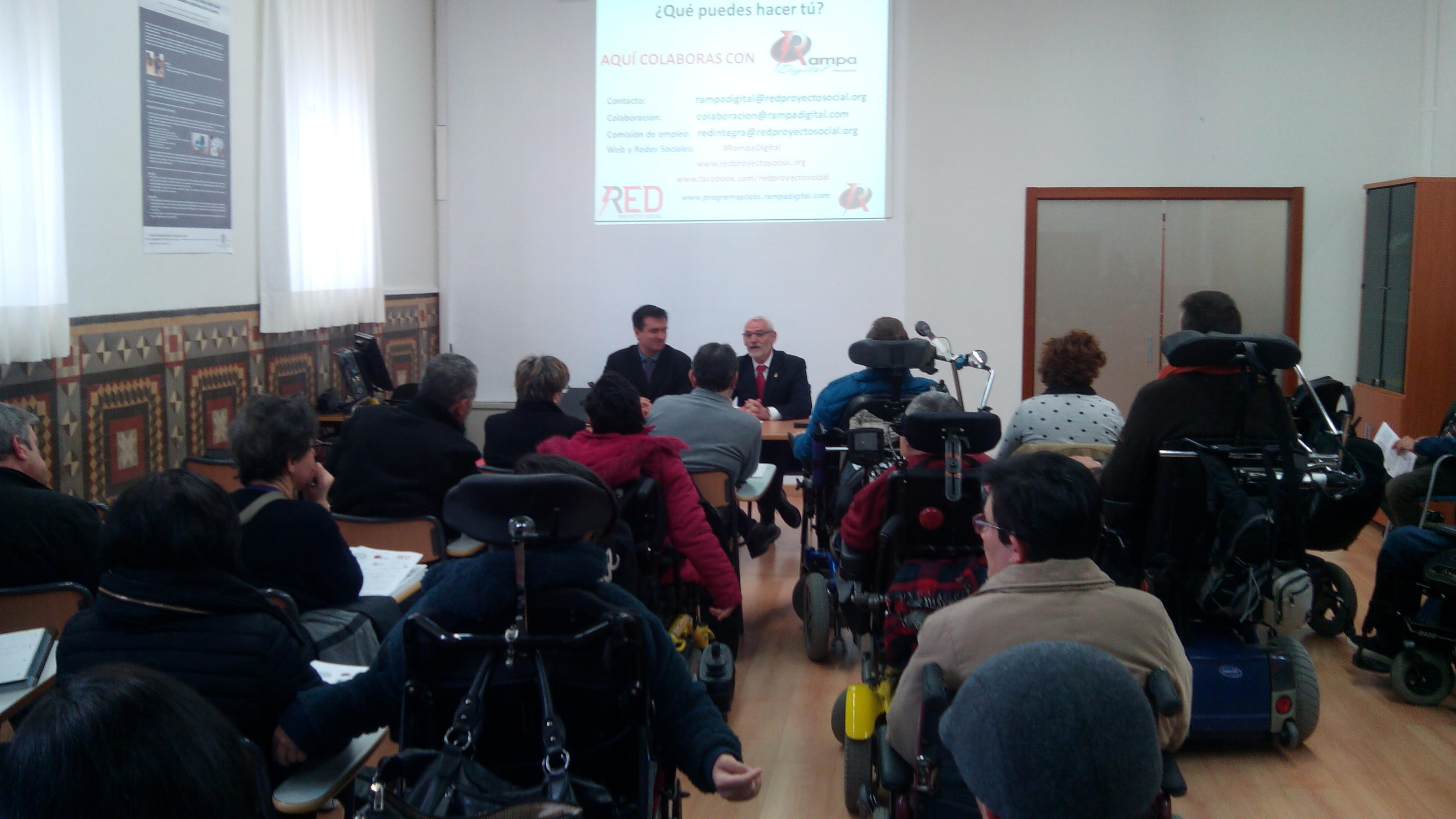 Red Proyecto Social Discapacidad Tecnol Gia