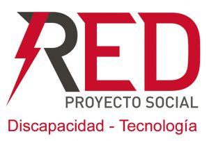 logotipo red proyecto social discapacidad tecnología