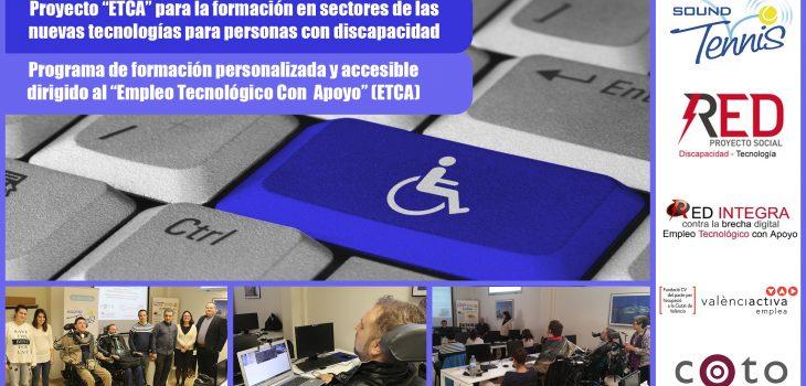 RED INTEGRA y Sound Tennis-Proyecto ETCA - Empleo Tecnológico con Apoyo