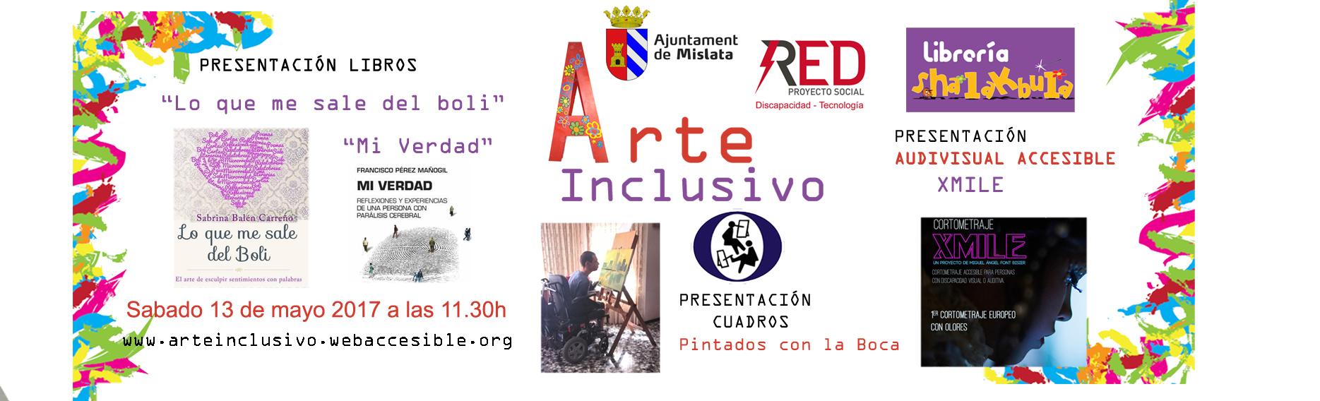 banner evento MISLATA Arte inclusivo