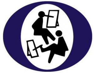 Logotipo de la asociacion Pintores con la Boca y el Pie
