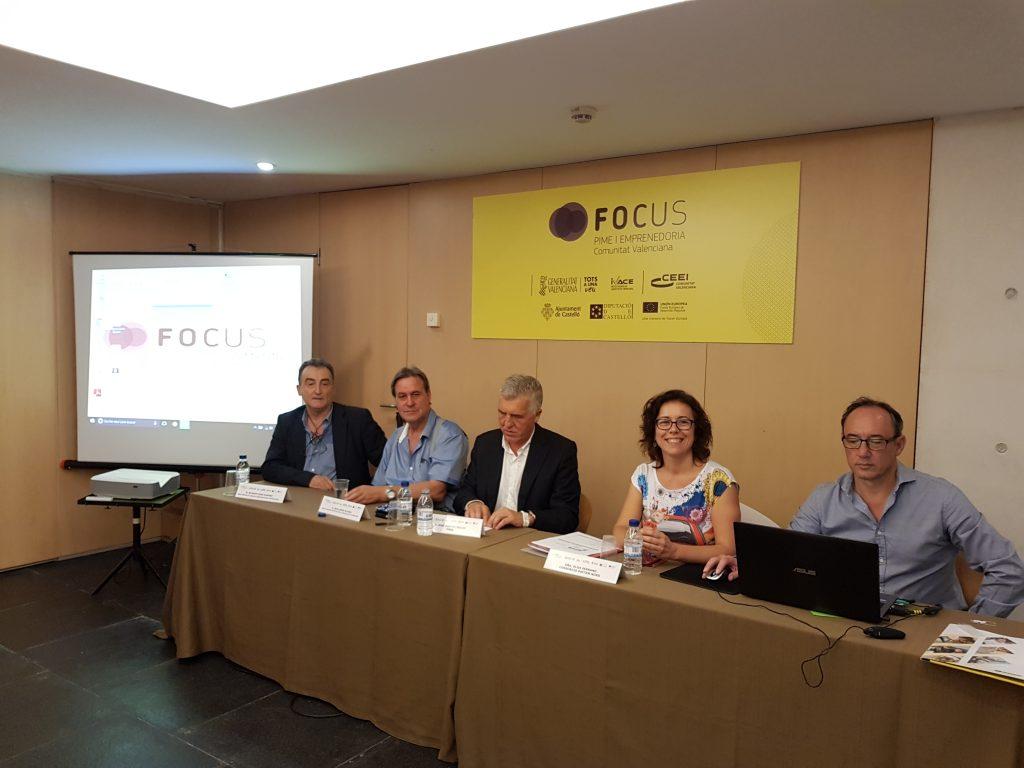 """sesión: """"Emprendimiento e innovación inclusiva y diversidad funcional"""" en el área de Área Focus Emprendimiento"""
