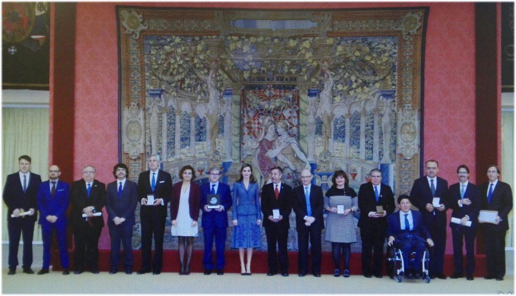 Premios Reina Letizia Foto de la Reina con los Galardonados