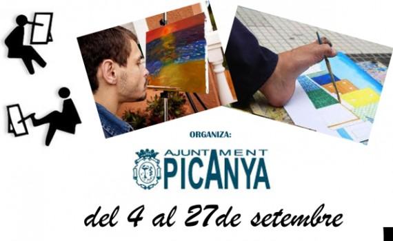 Exposición Picanya ARTE CON BOCA Y PIES
