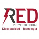 Logotipo Asociación RED Proyecto Social. Discapacidad Tecnología
