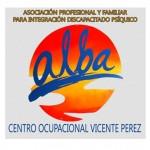 Logotipo Centro Ocupacional Vicente Peréz- Asociación ALBA