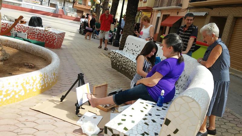 """Exposición Picanya """"ARTE CON BOCA Y PIES"""""""