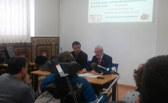 D. Miguel Chavarría Alcalde de Alboraya expreso el compromiso con la inclusión tecnológica y social que les ha llevado a instalar la accesibilidad en la web