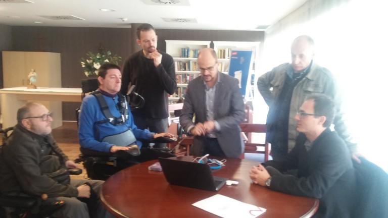Juan Antonio de Daas Group explicando las ventajas de las herramientas InSuit programa de accesibilidad web