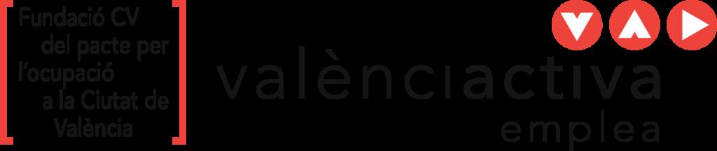 Logotipo de ValenciActiva emplea