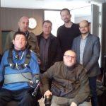 Miembros de RED Proyecto Social. Discapacidad Tecnología. y la empresa Daas Group creadora del programa de accesibilidad web. inSuit