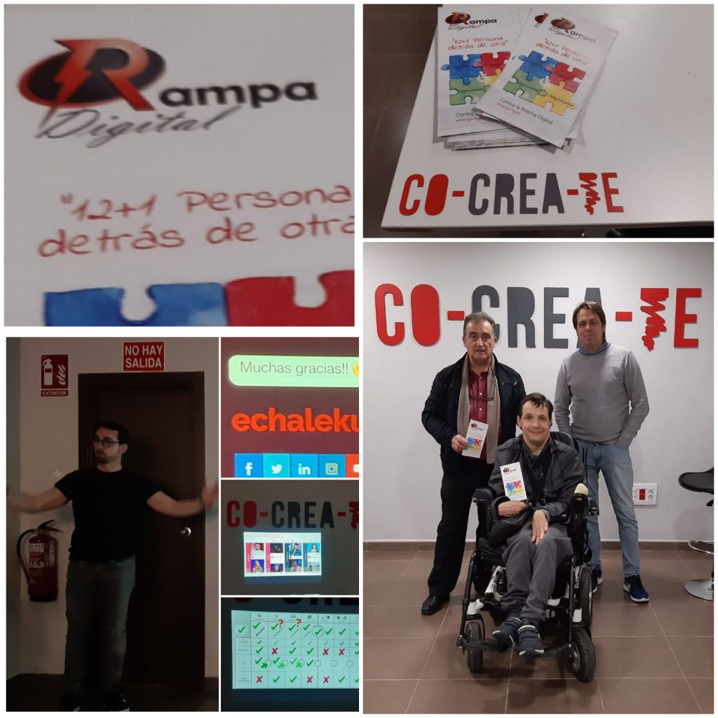 PRESENTACION PROYECTO RAMPA DIGITAL A RESPONSABLES DE COCREATE