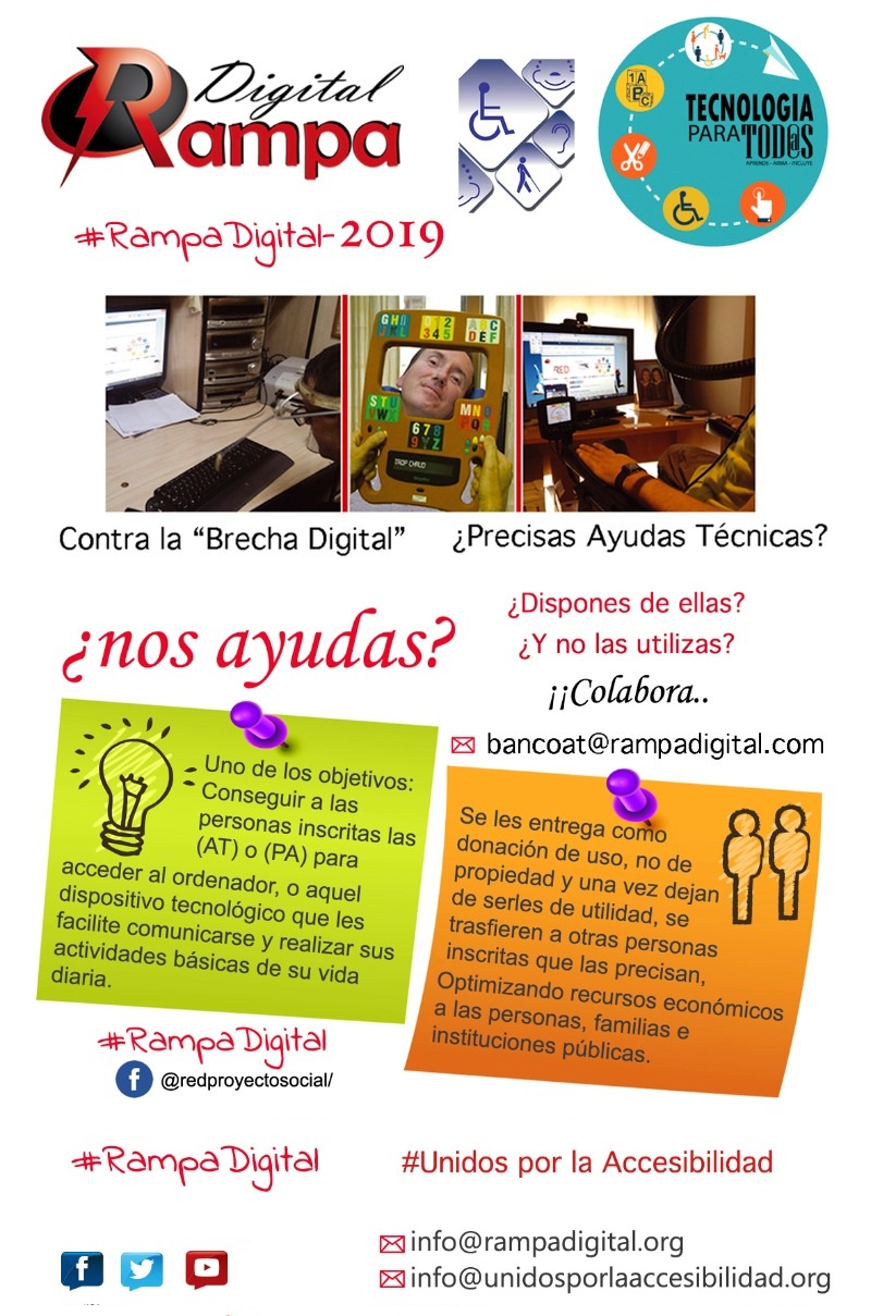 Folleto proyecto rampa digital