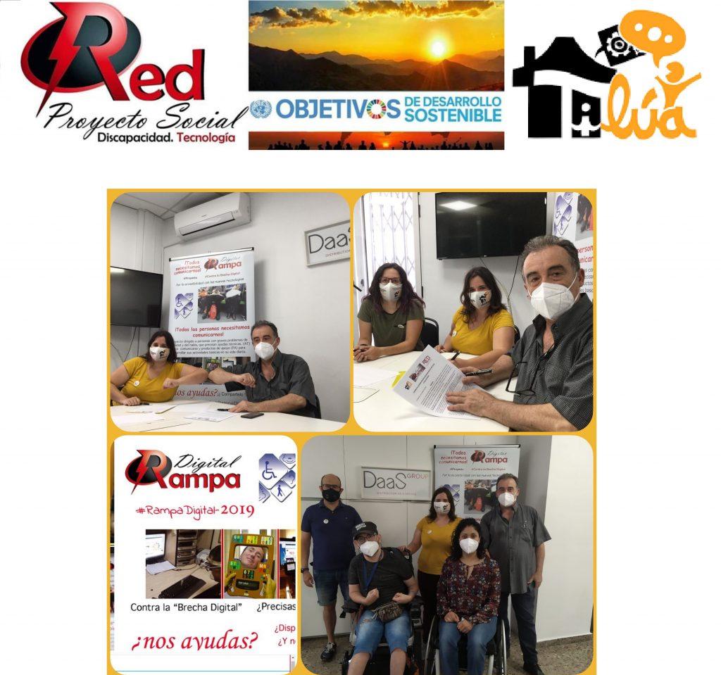 Imágenes CONVENIO Proyecto Rampa Digital Asociación Red Proyecto Social D.T. - Tilúa Asistencia