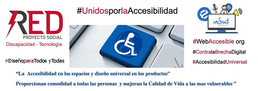 Unidos por la accesibilidad universal Red proyecto social discapacidad tecnología y la empresa Tech 4 Access / Everycode fue galardonada con el PREMIO REINA LETIZIA TECNOLOGIAS DE LA ACCESIBILIDAD con el programa inSuit